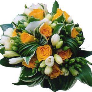 bouquet coloré de mariage