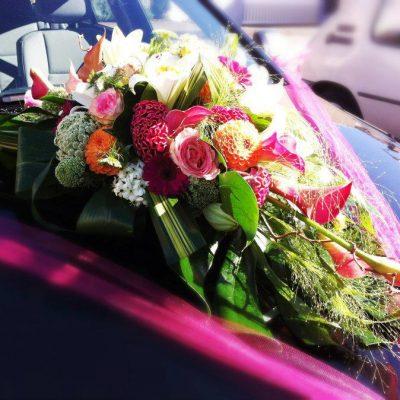 livraison voiture décoration