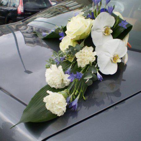 ventouse fleurs mariage