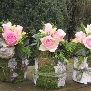 votre composition de fleurs